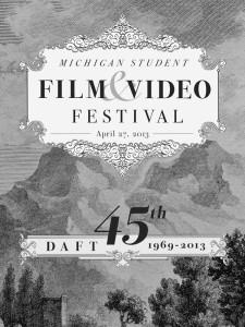 DAFT Festival 2013 Program Cover
