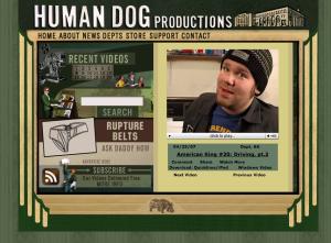 HumanDog.tv Mock Up